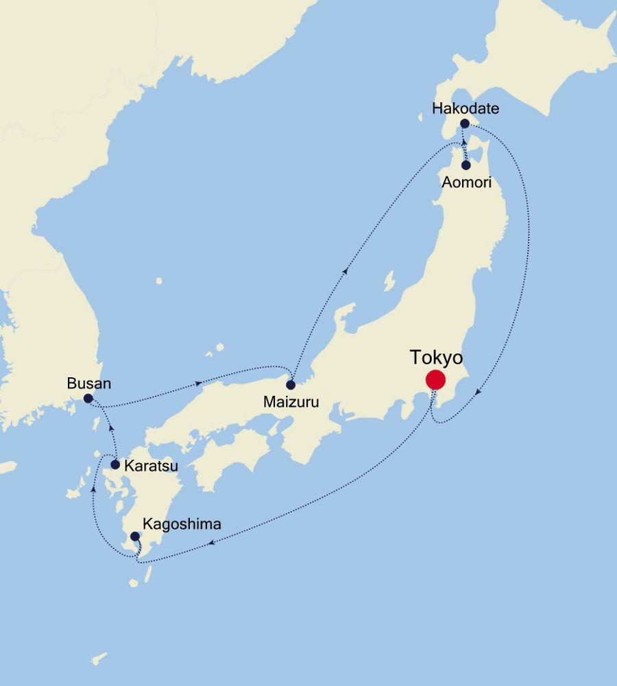 6908 - Tokyo nach Tokyo