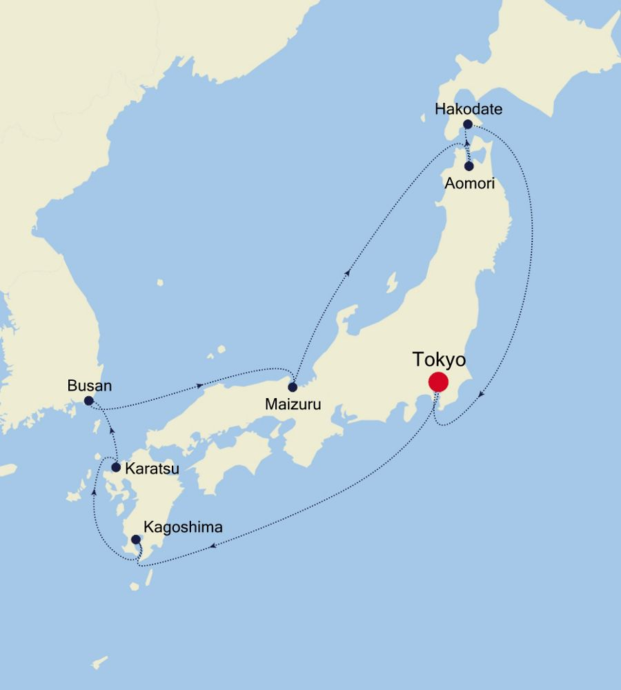 6909 - Tokyo to Tokyo