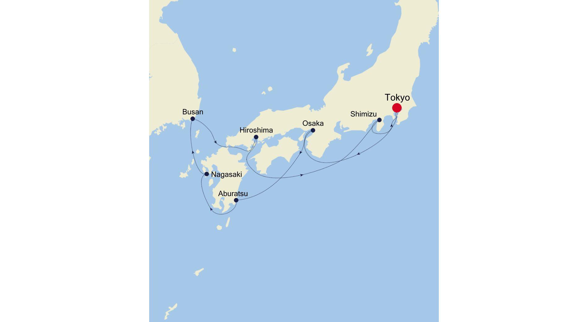 6927 - Tokyo nach Tokyo