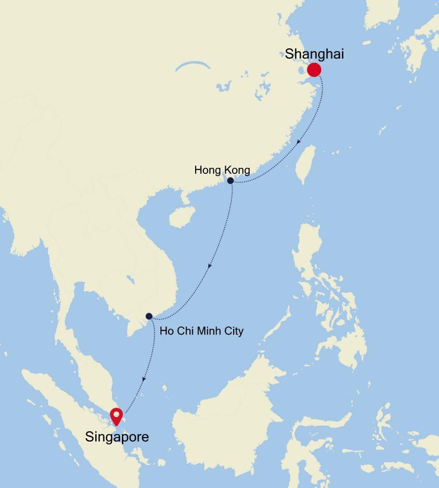 4905B - Shanghai to Singapore