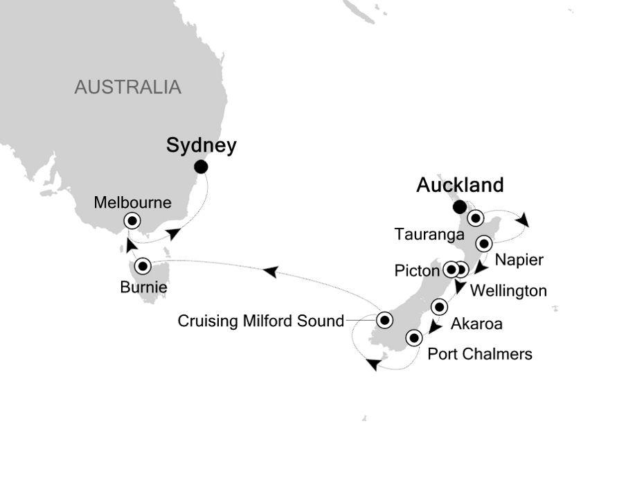 4803 - Auckland to Sydney