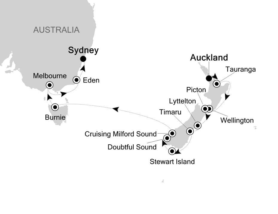 6003 - Auckland a Sydney