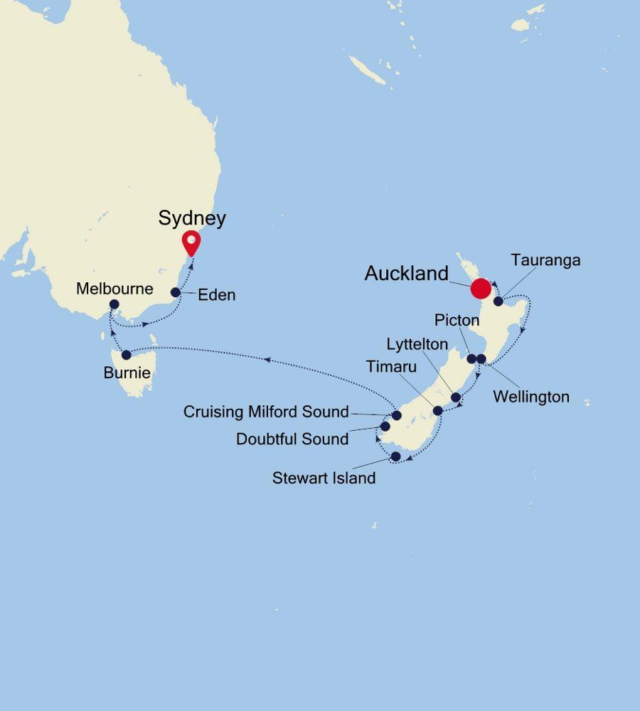 6003 - Auckland à Sydney
