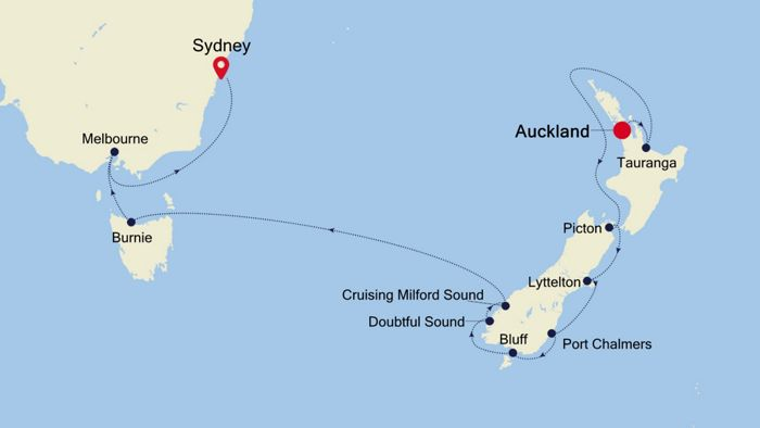Luxury Cruise from AUCKLAND to SYDNEY 17 Mar 2020 | Silversea