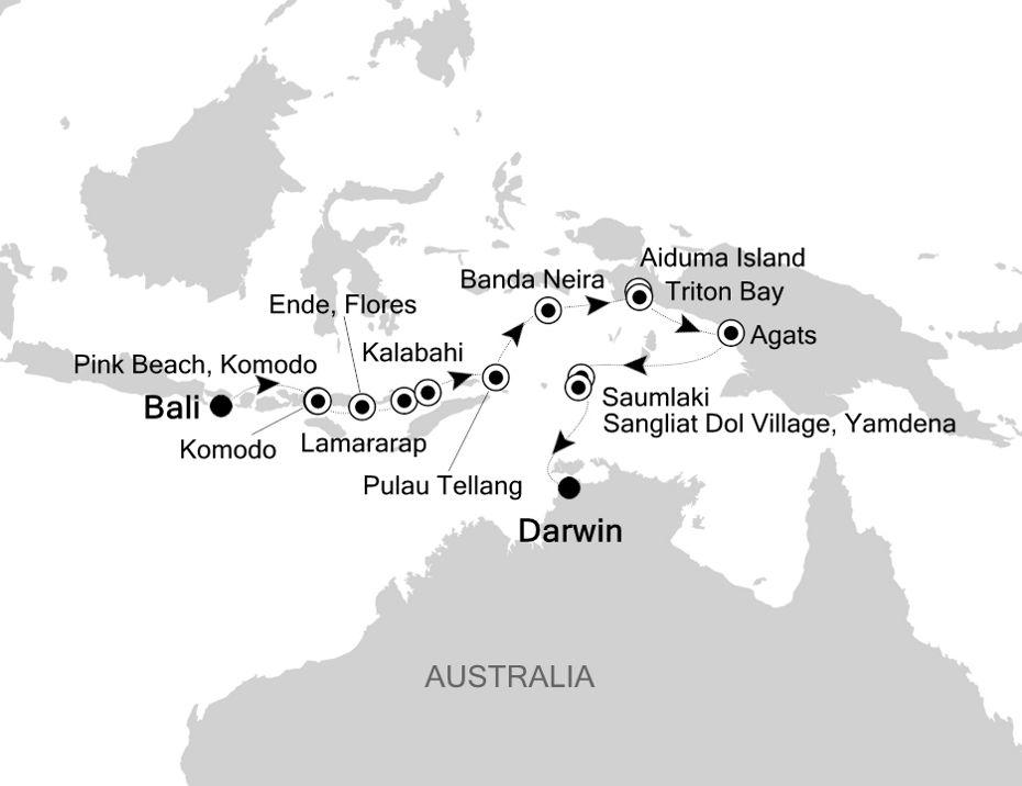 9906 - Bali nach Darwin