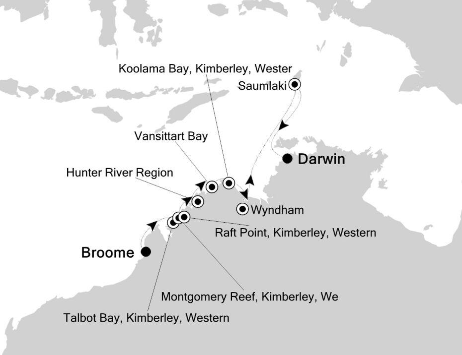 9816 - Broome a Darwin