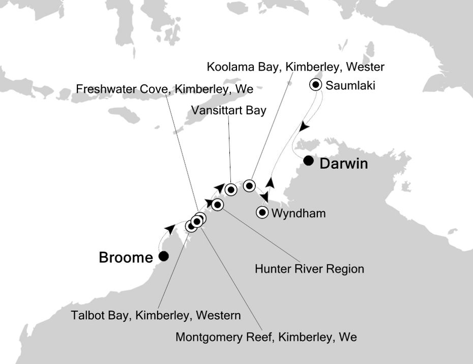 9818 - Broome à Darwin