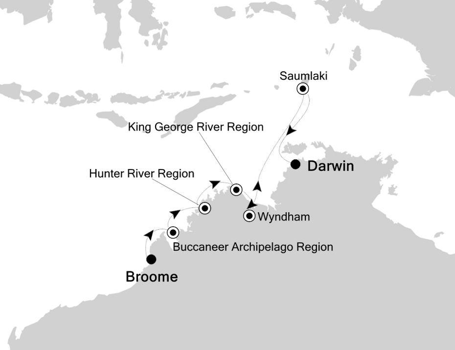 9910 - Broome à Darwin