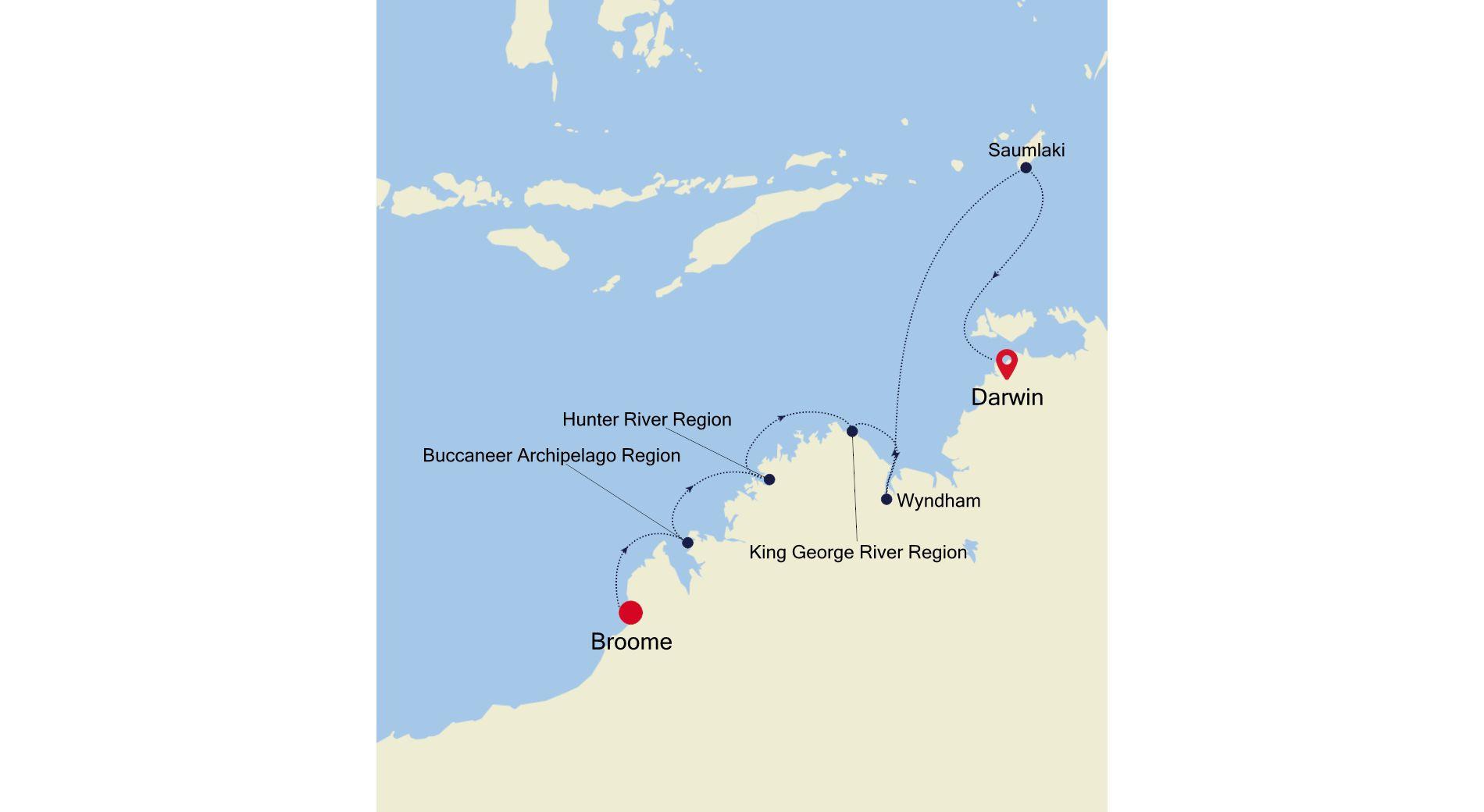 9912 - Broome nach Darwin