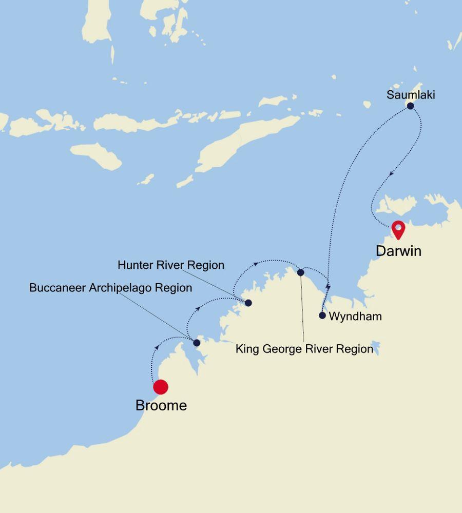 9912 - Broome à Darwin
