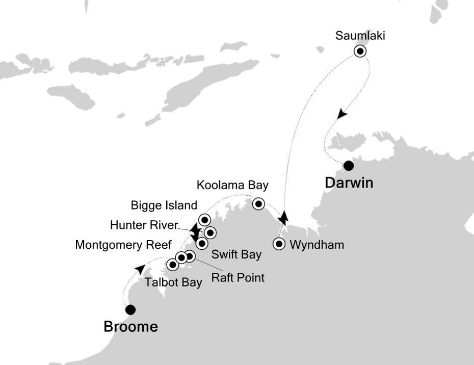 9914 - Broome a Darwin
