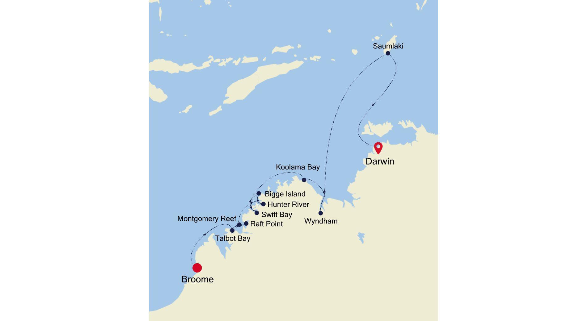 9914 - Broome à Darwin