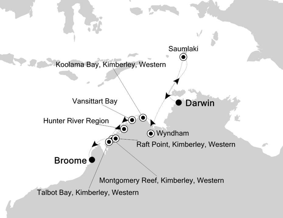 9815 - Darwin a Broome