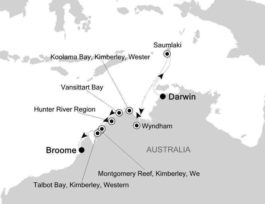 9817 - Darwin to Broome