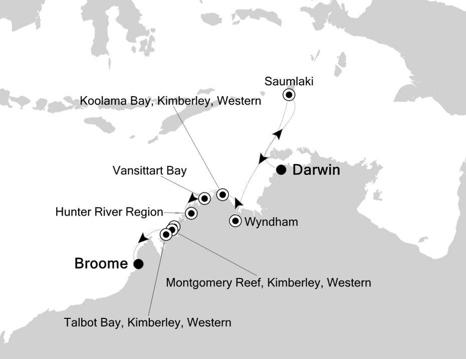 9819 - Darwin à Broome