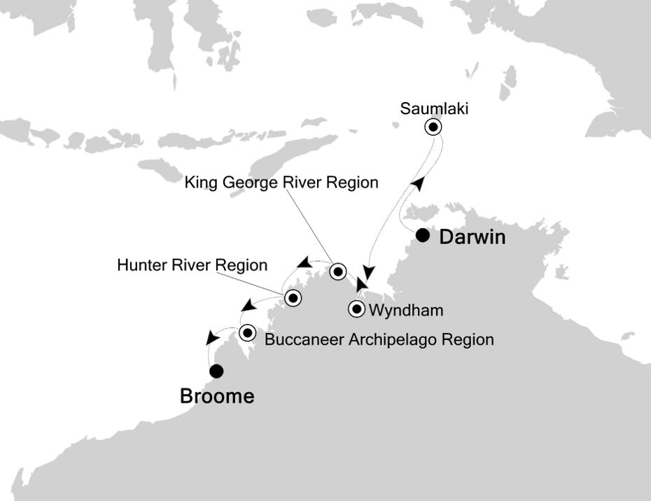 9907 - Darwin to Broome