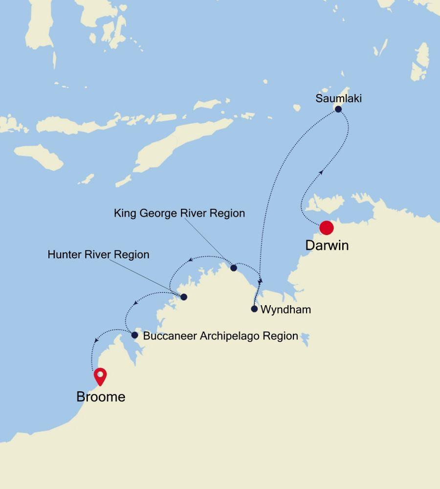9911 - Darwin à Broome