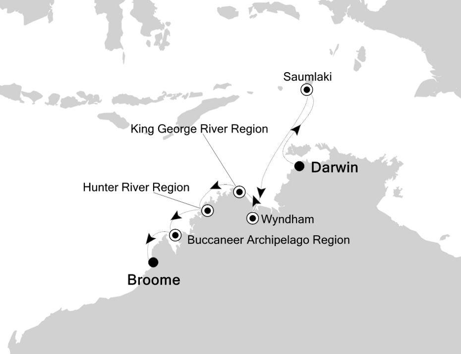 9913 - Darwin a Broome
