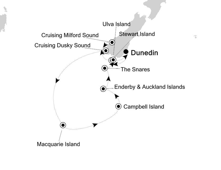 E1210104014 - Dunedin nach Dunedin