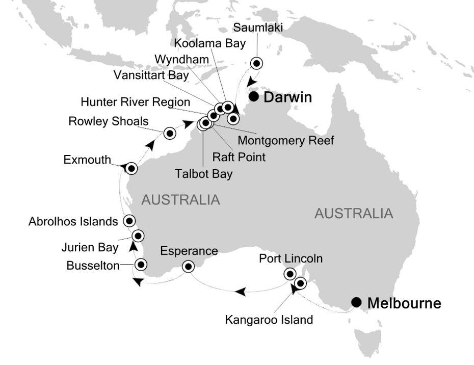 E1210224025 - Melbourne à Darwin