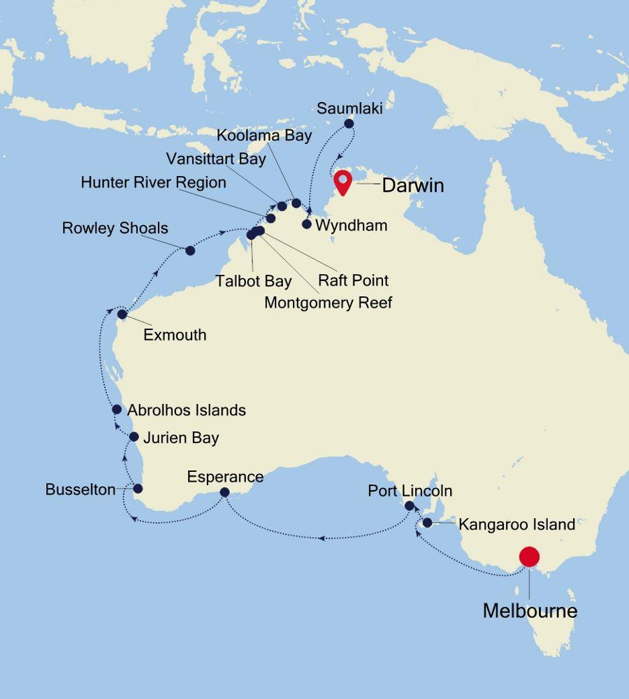E1210224025 - Melbourne to Darwin