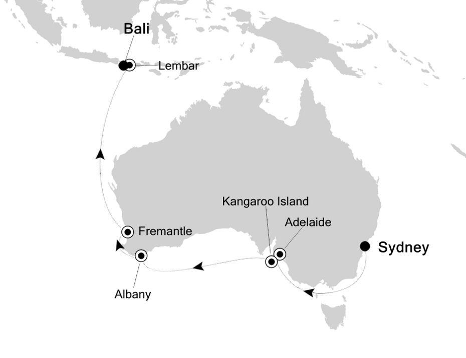 6904B - Sydney to Bali