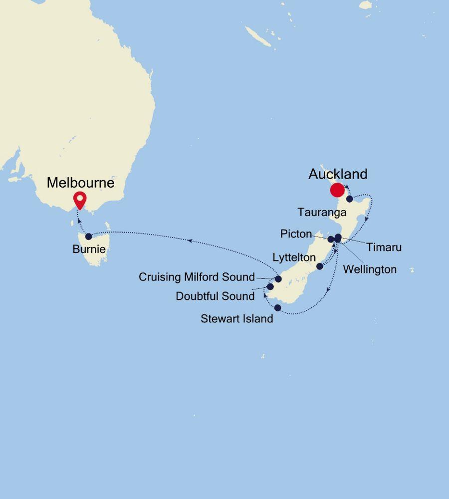 6003A - Auckland a Melbourne