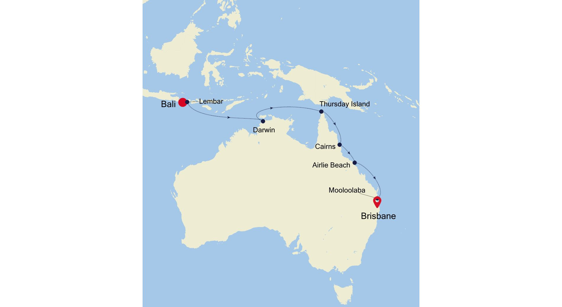 SM201203014 - Bali  a Brisbane