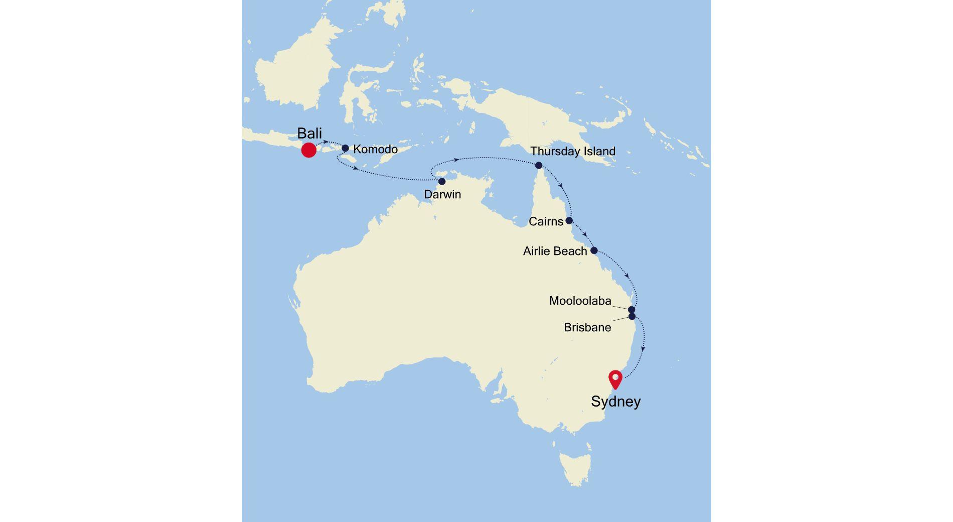 SM201203017 - Bali nach Sydney