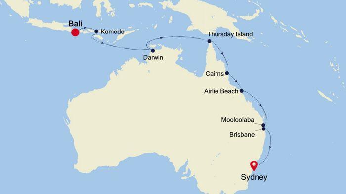 Luxury Cruise From Bali To Sydney 03 Dec 2020 Silversea