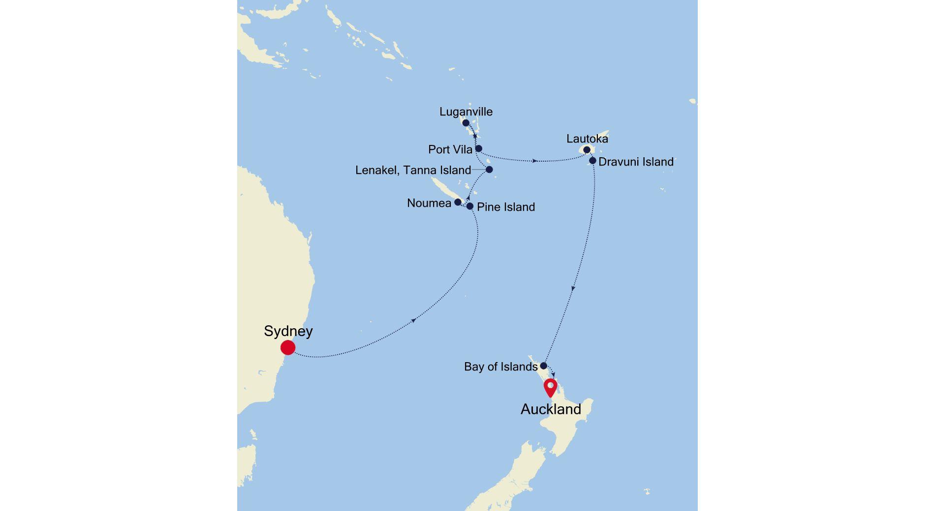 SM210119014 - Sydney a Auckland