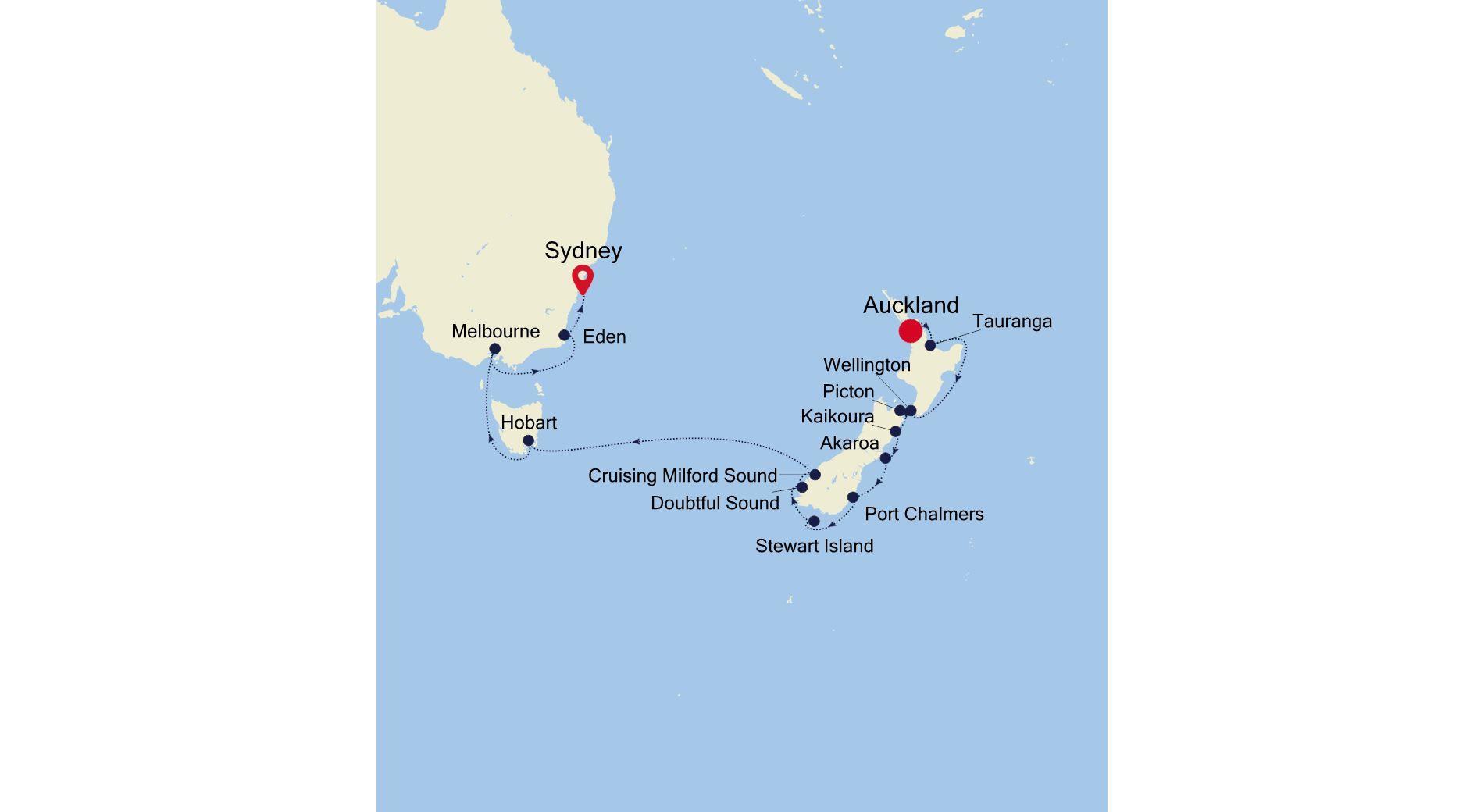 SM210202017 - Auckland nach Sydney