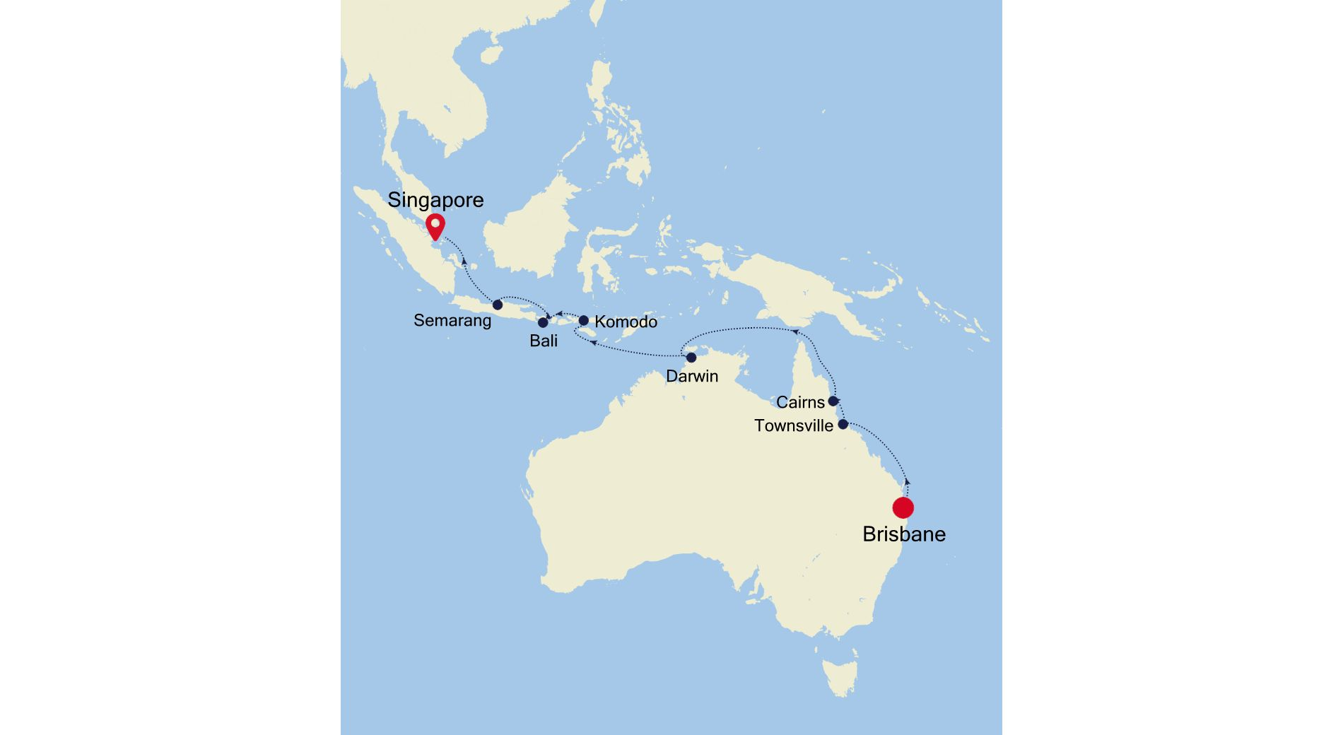 SM210221016 - Brisbane to Singapore