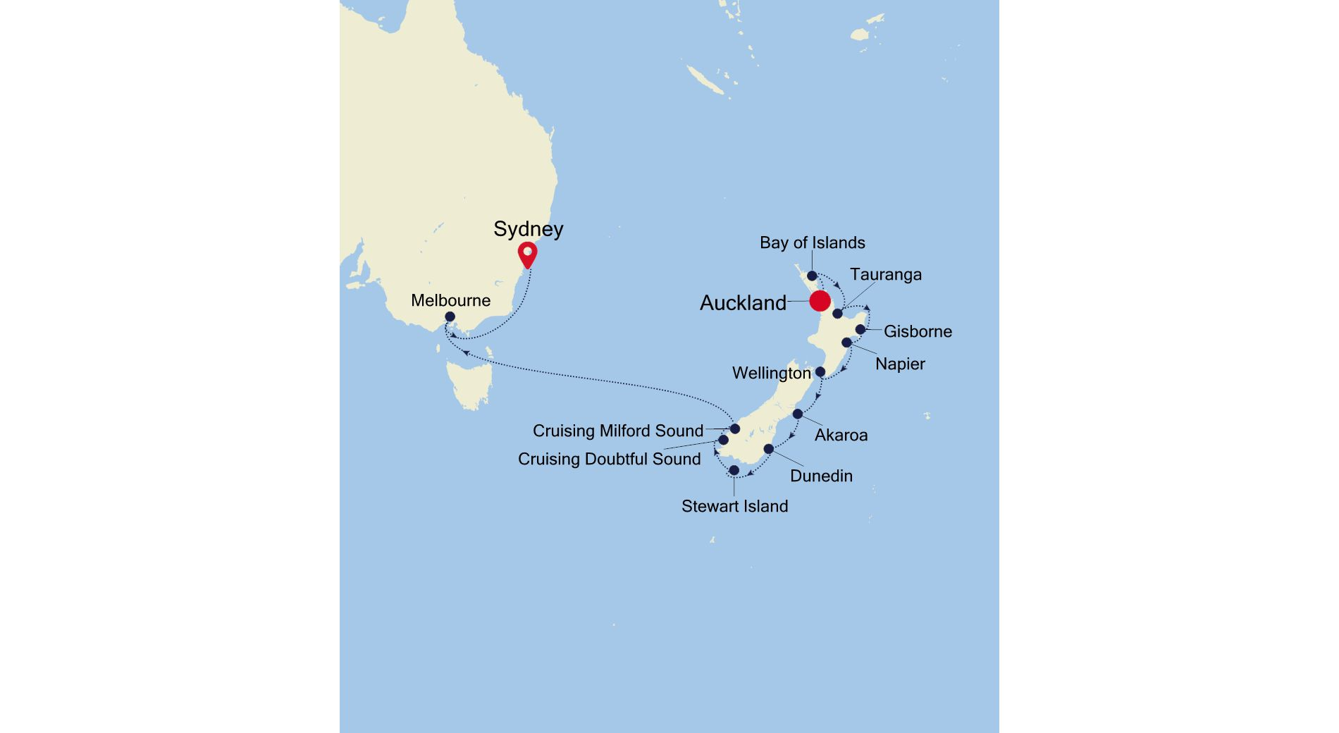 SS220218015 - Auckland à Sydney