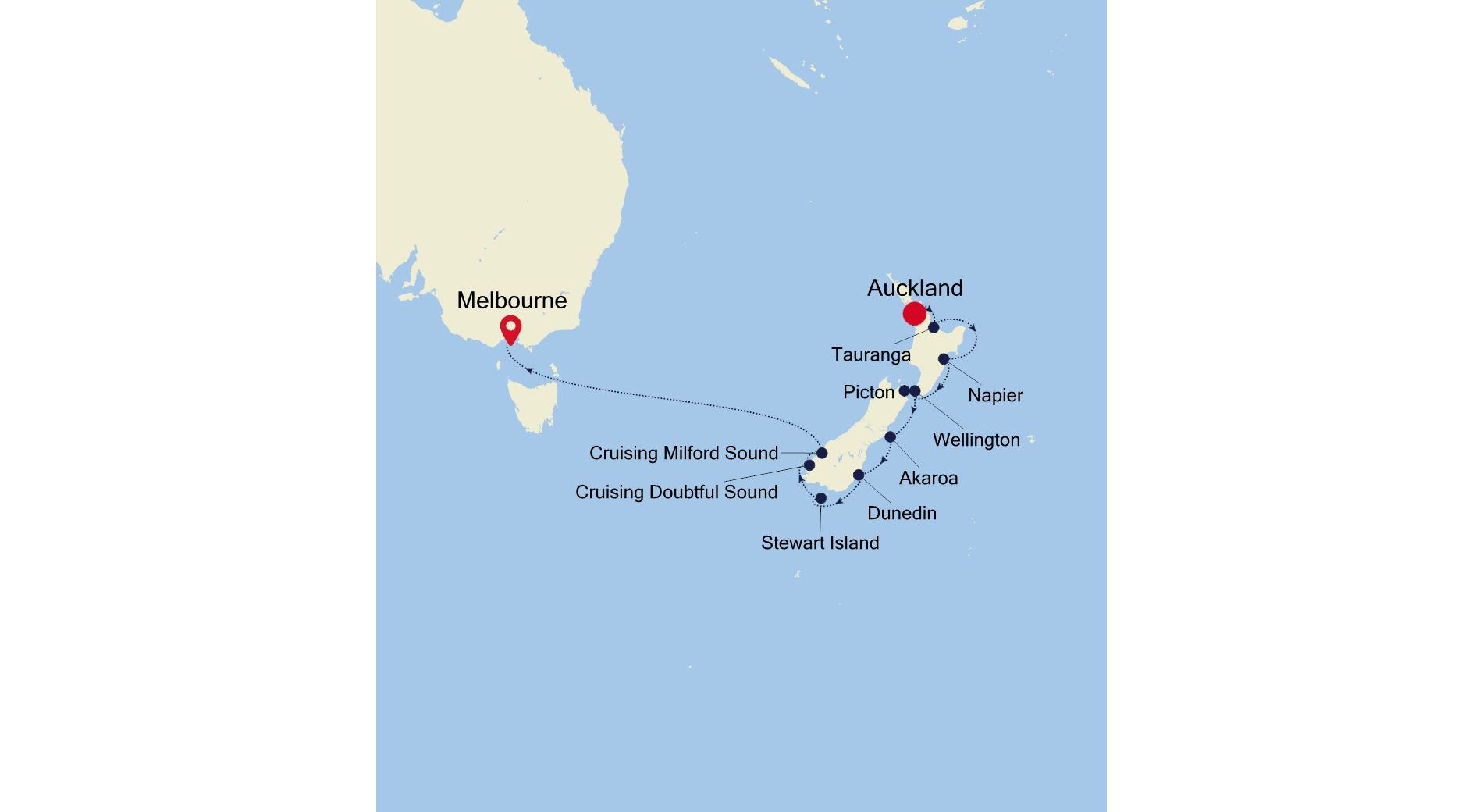 SS220320S13 - Auckland nach Melbourne