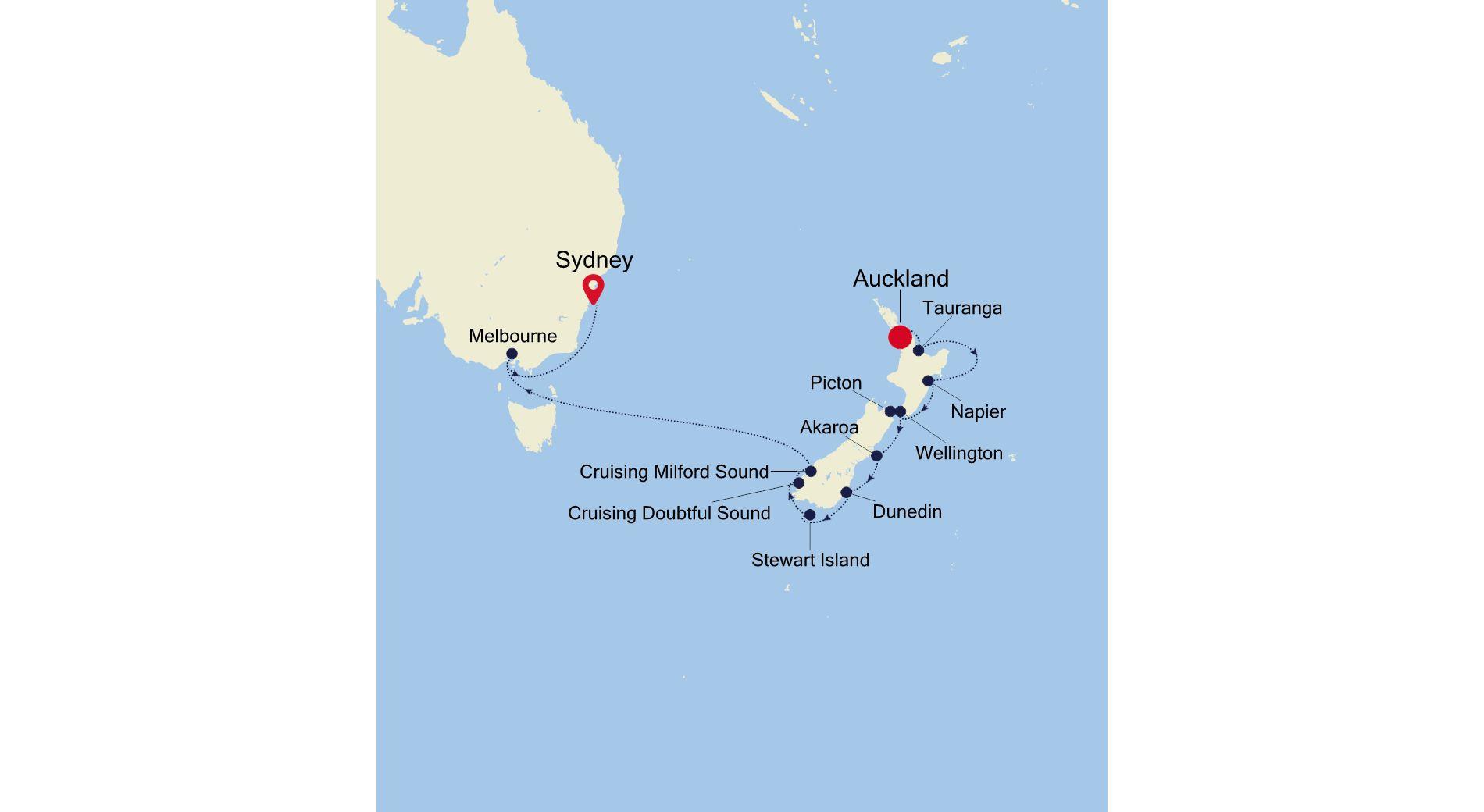 SS220320015 - Auckland a Sydney