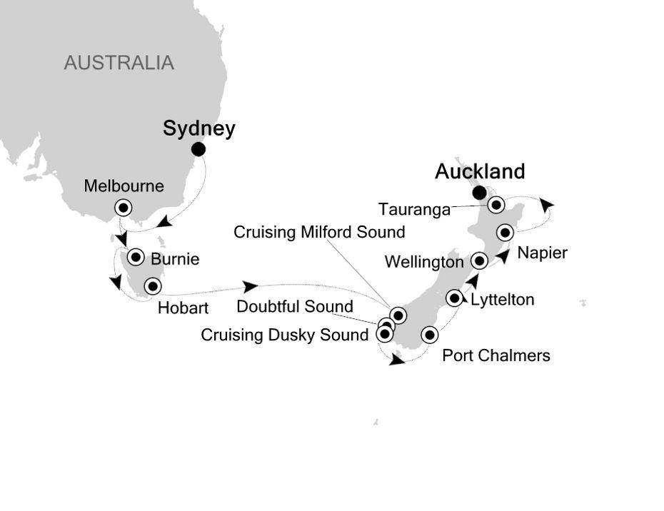 6002 - Sydney nach Auckland
