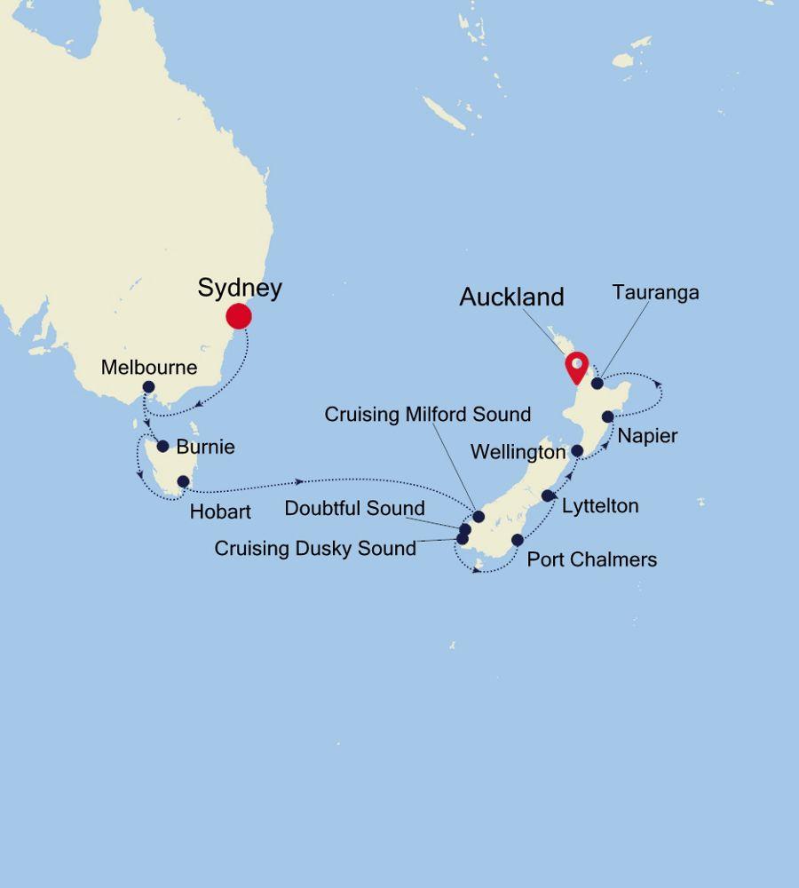 6002 - Sydney à Auckland