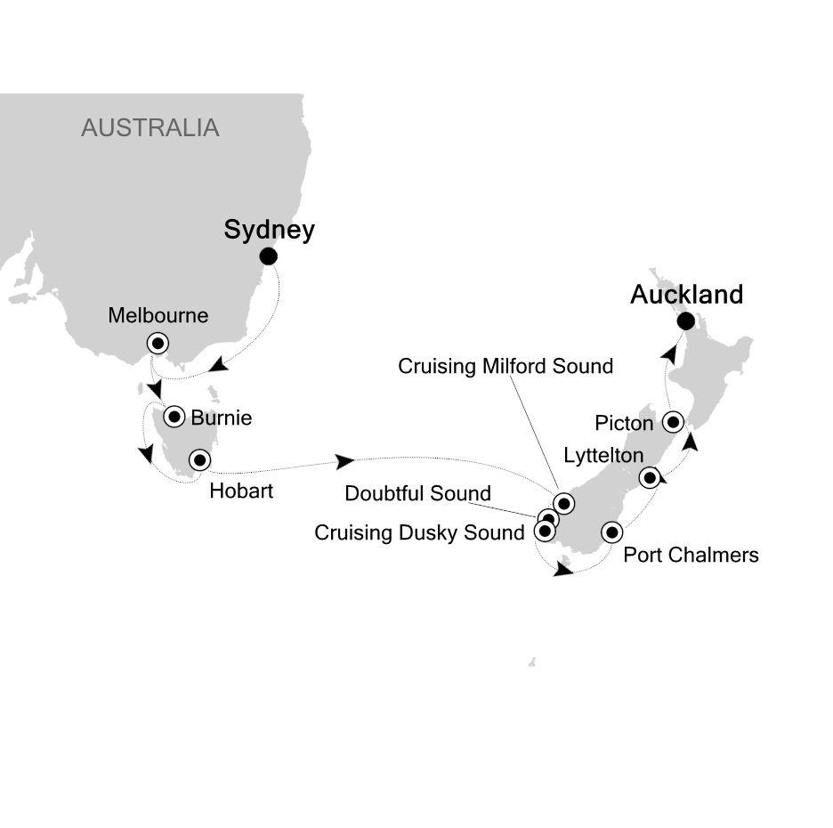 6005 - Sydney to Auckland