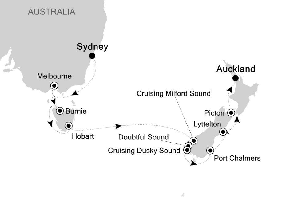 6005 - Sydney à Auckland