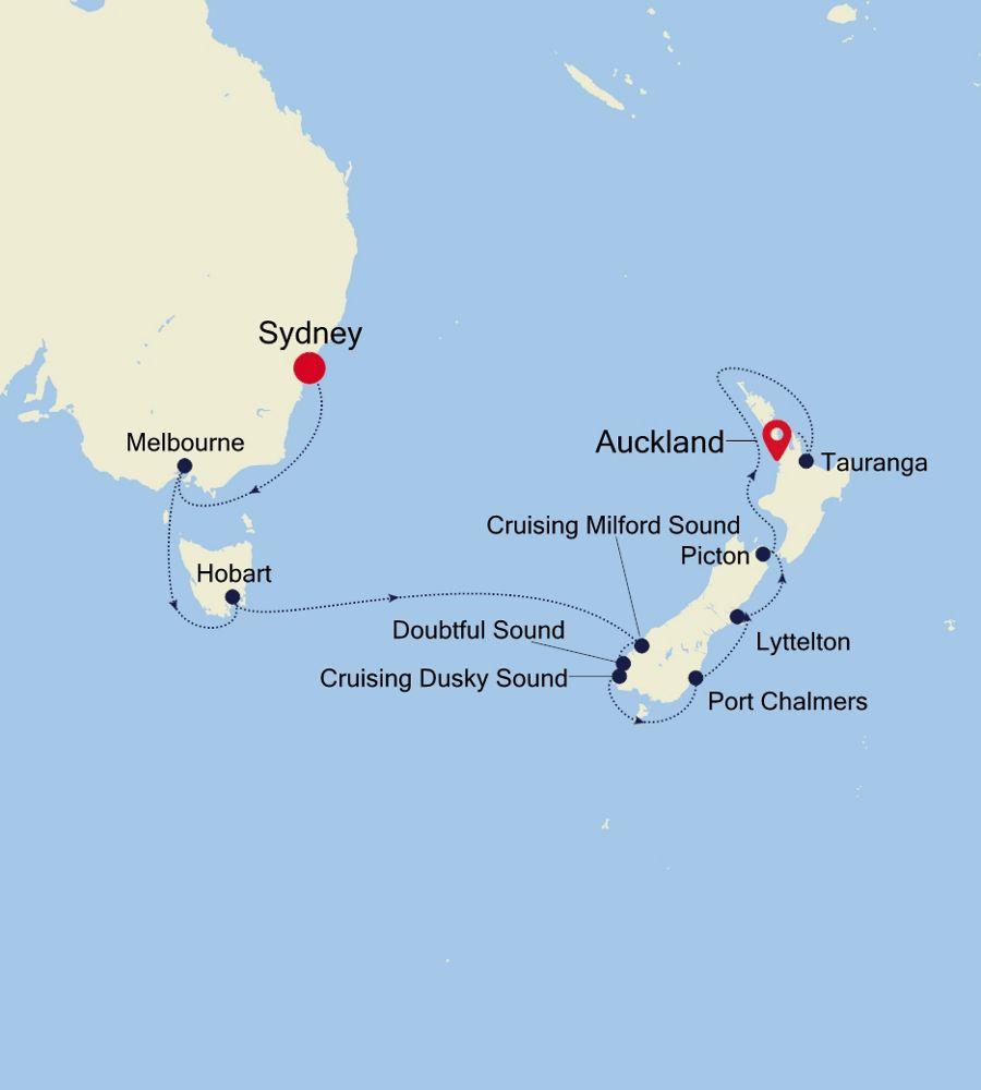 6931 - Sydney à Auckland