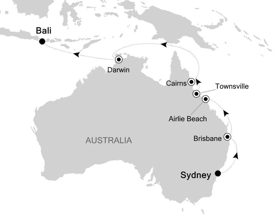 4804 - Sydney nach Bali