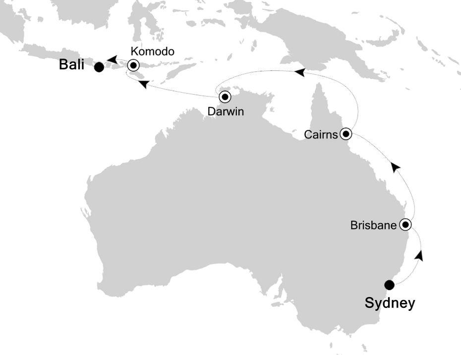 4903 - Sydney to Bali
