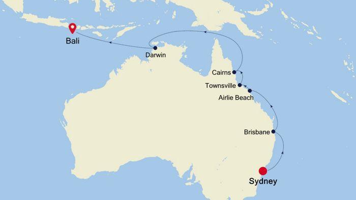 Luxury Cruise From Sydney To Bali 31 Mar 2020 Silversea