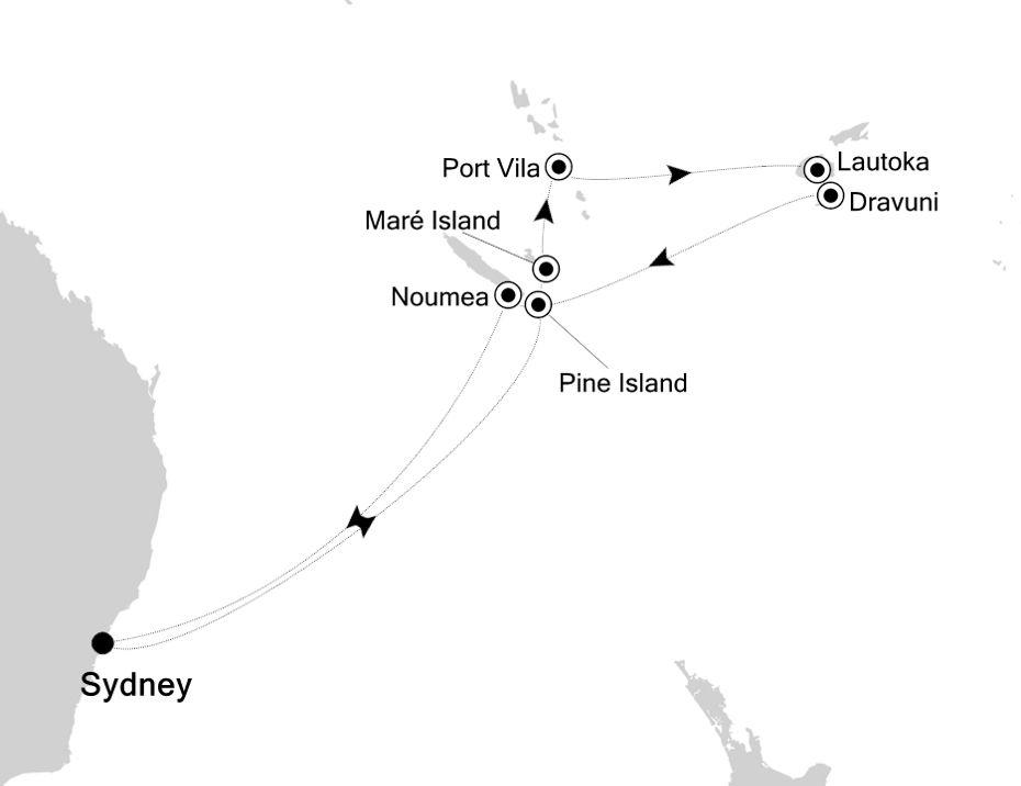 6001 - Sydney to Sydney