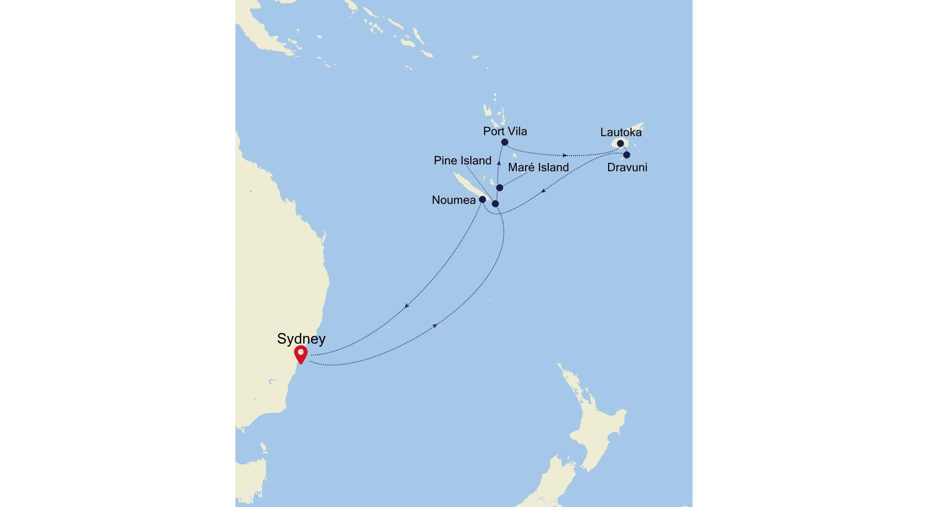 6001 - Sydney à Sydney