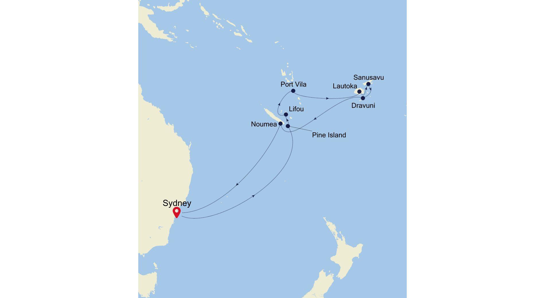 6004 - Sydney to Sydney