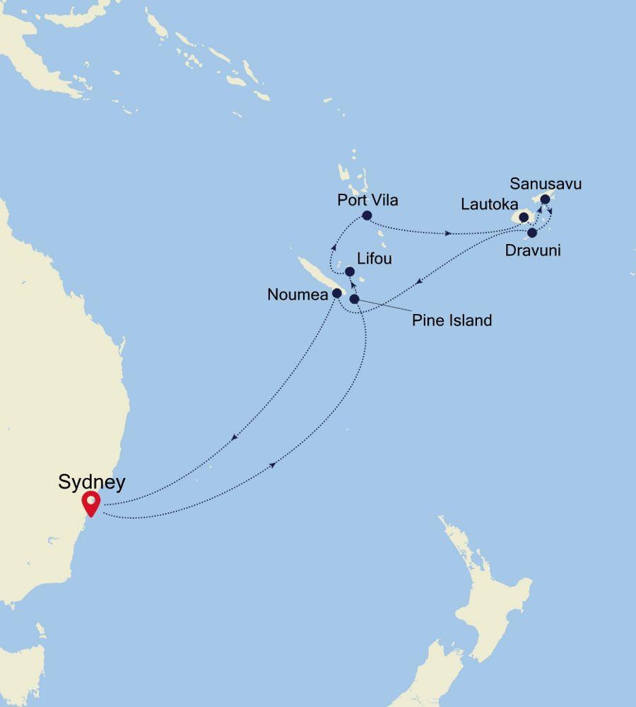 6004 - Sydney nach Sydney