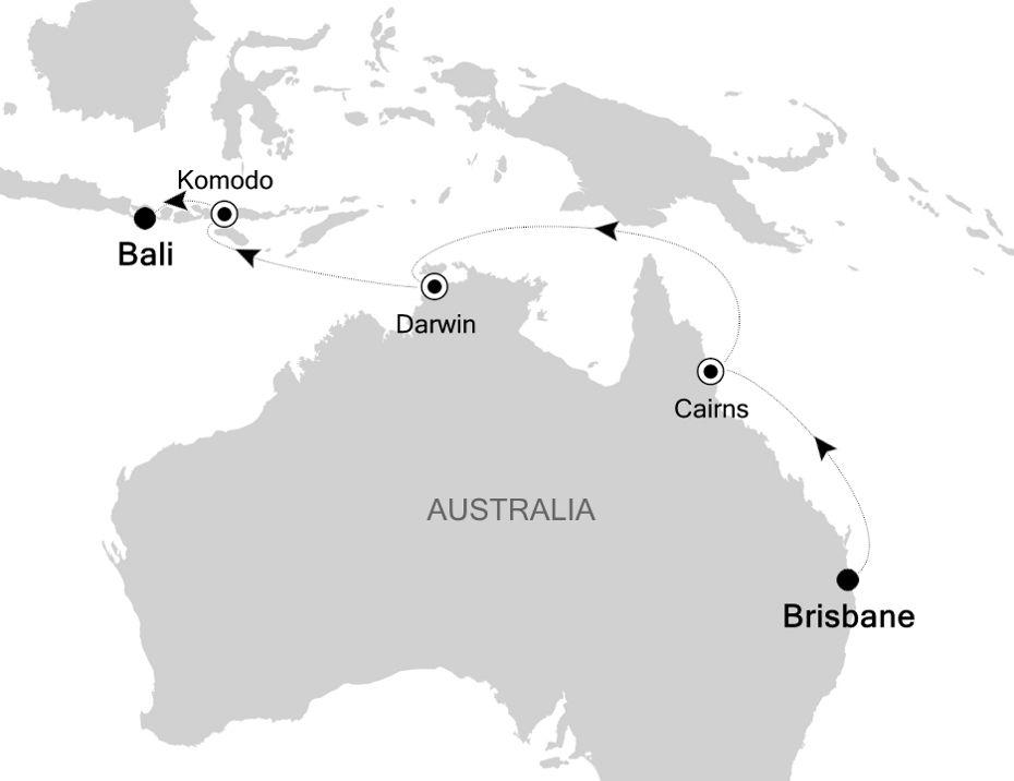 4903A - Brisbane to Bali