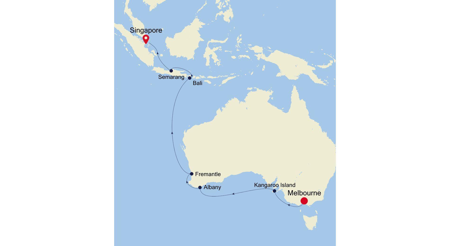 4005A - Melbourne to Singapore